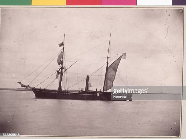 The USS Pocahontas was mustered for the November 24 attack on the confederate held Fort Pulsaki South Carolina