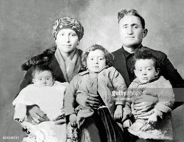 The Vaccaro family Maria Domenica and Joseph A Vaccaro with Assunta Gloria and Tony 11th January 1924