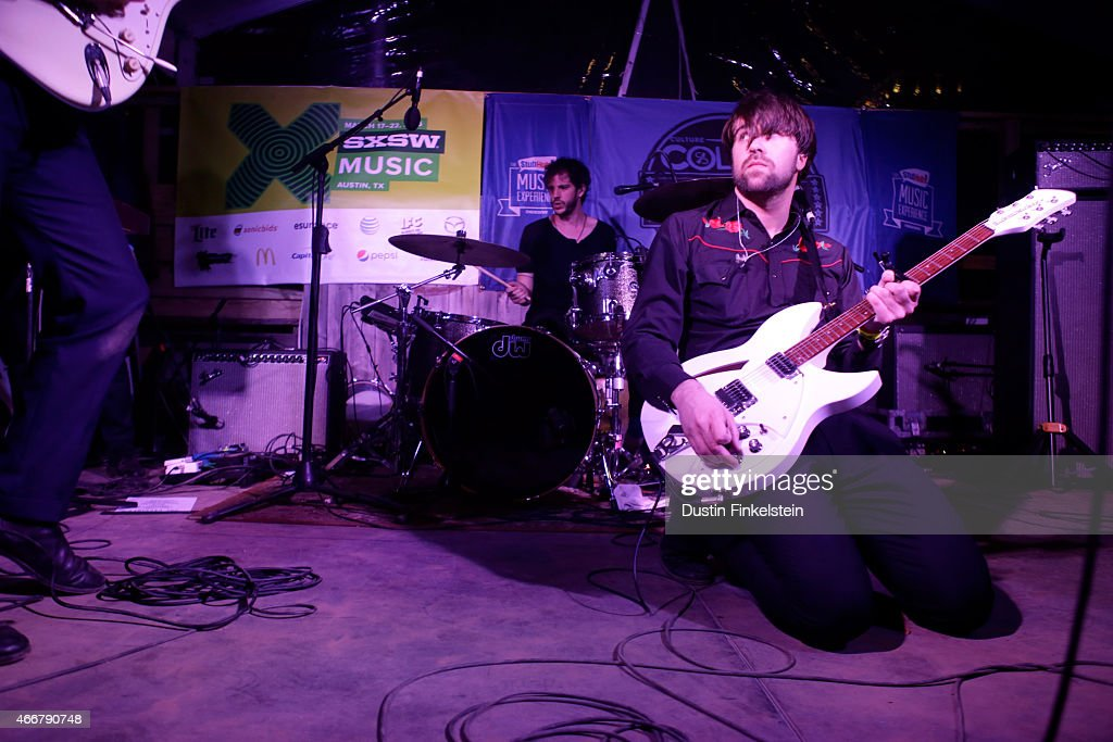 The Vaccines perform onstage at the Stubhub/Collide showcase during the 2015 SXSW Music Film Interactive Festival at Clive Bar on March 18 2015 in...