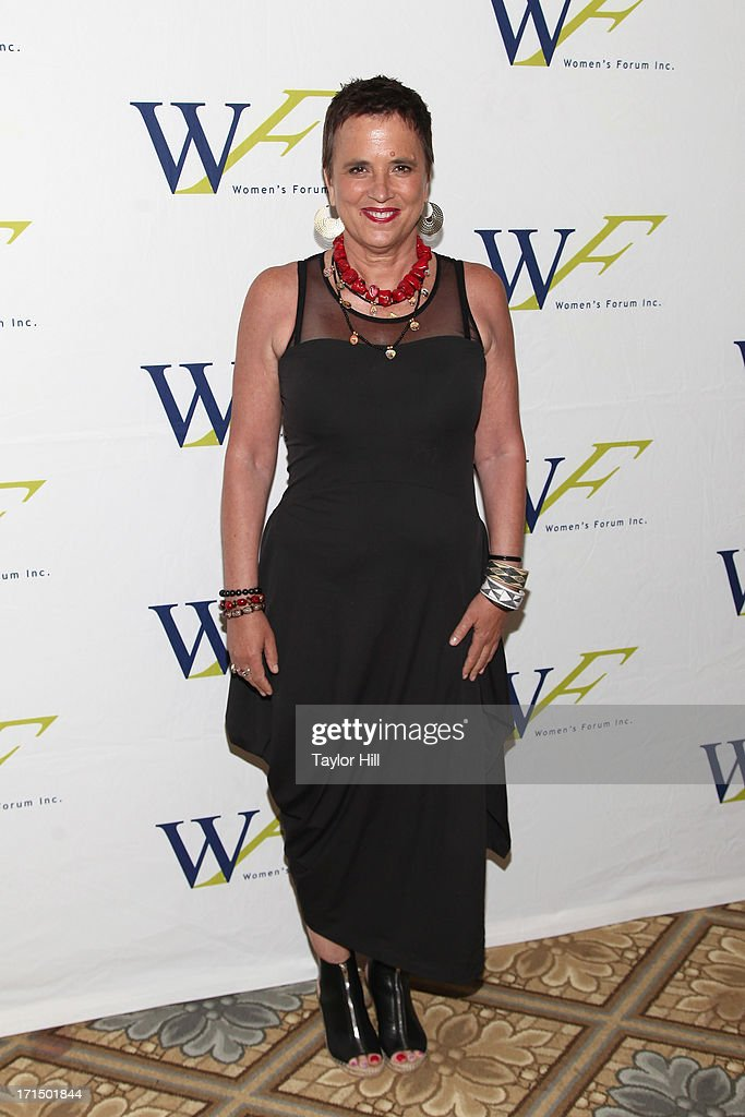 'The Vagina Monologues' playwright <a gi-track='captionPersonalityLinkClicked' href=/galleries/search?phrase=Eve+Ensler&family=editorial&specificpeople=203150 ng-click='$event.stopPropagation()'>Eve Ensler</a> attends the 3rd annual Elly Awards luncheon at The Plaza Hotel on June 25, 2013 in New York City.