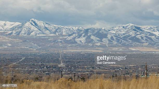The valley of Salt Lake County
