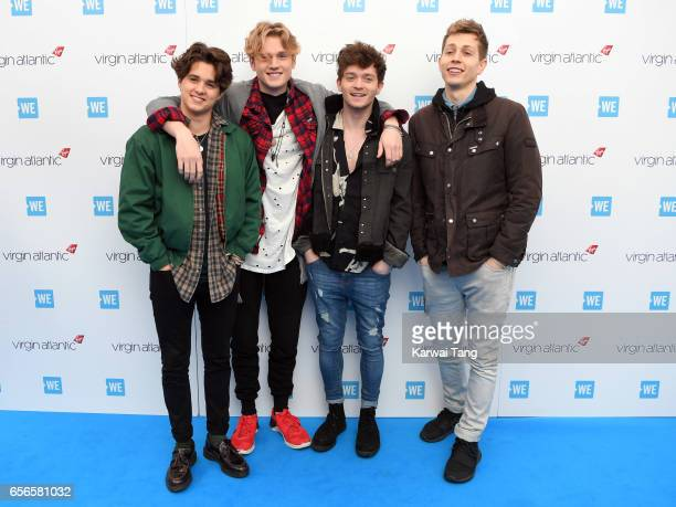 The Vamps attend WE Day UK at The SSE Arena on March 22 2017 in London United Kingdom