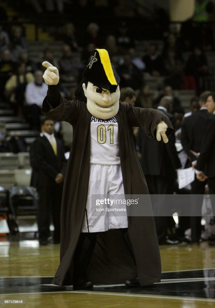 The Vanderbilt Commodore entertains the crowd on Star Wars Night during a college basketball game between the Middle Tennessee State Blue Raiders and the Vanderbilt Commodores on December 06, 2016 at Memorial Gym in Nashville, Tennessee.