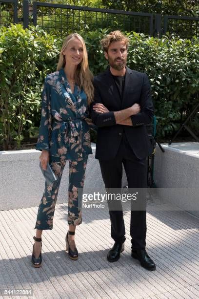 the Vanesa Lorenzo model attends the inauguration of the exhibition quotMANUEL PERTEGAZquot in Madrid Spain September 8 2017