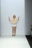 The Vanessa Bruno Spring Summer 2014 fashion show during Paris Fashion Week on September 27 2013 in Paris France