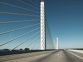 The Varina Enon Bridge, over the James River