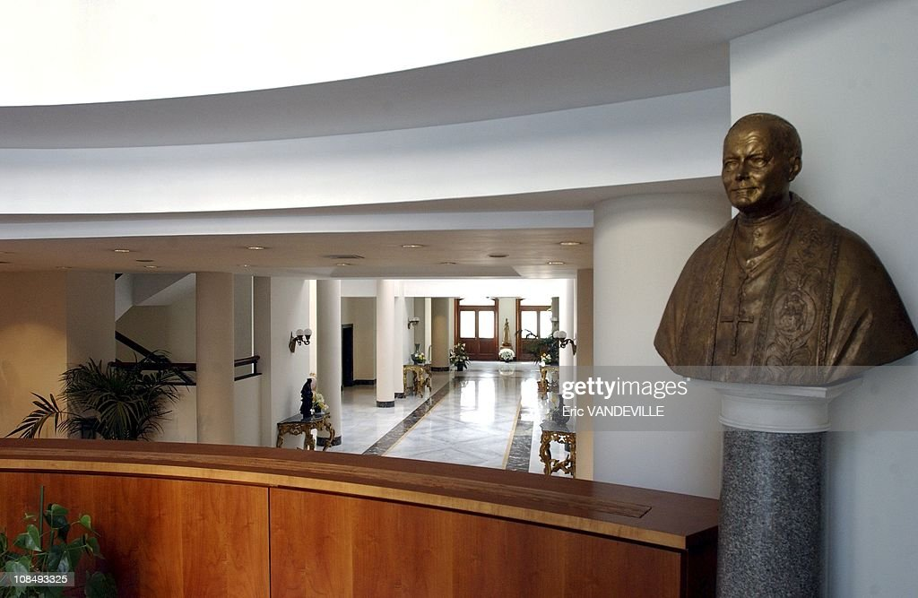The Vatican's Santa Marta residence is the residence of the cardinals during the papal conclave in Rome Italy on April 11 2005 Built for $20 million...
