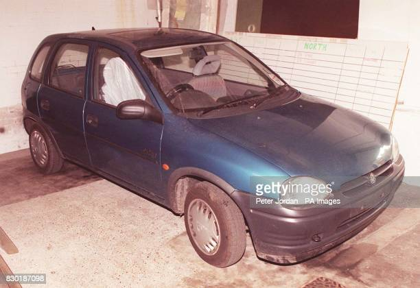 The Vauxhall Corsa car used by Alan Hopkinson who pleaded guilty at Lewes Crown Court to snatching two 10yearold girls and holding them captive for...