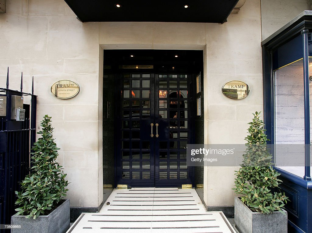 The venue exterior of Tramp Jermyn Street is seen on April 4 2007 in London England