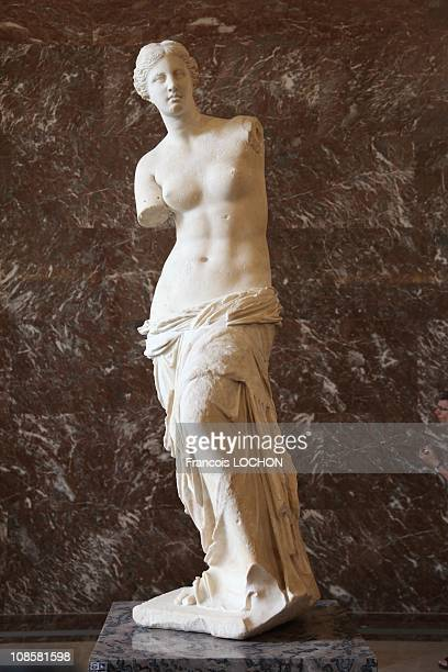 The Venus de Milo at the Louvre Museum back after restoration on July 9 2009