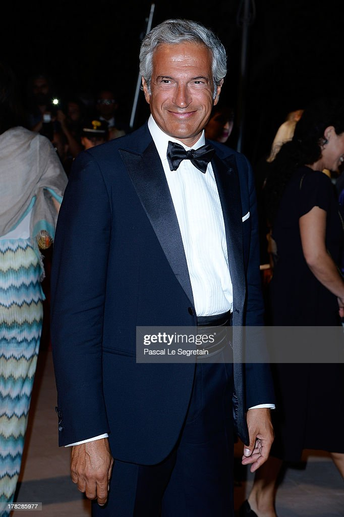 The Veronesi Foundation President Paolo Veronesi attends the Opening Dinner Arrivals during the 70th Venice International Film Festival at the Hotel Excelsior on August 28, 2013 in Venice, Italy.
