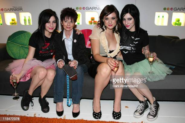 The Veronicas and guests during MTV Australia Video Music Awards 2007 GreenRoom at SuperDome in Sydney NSW Australia
