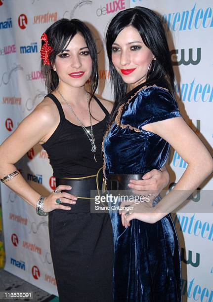 The Veronicas during Seventeen Magazine Celebrates Hearst Magazines '30 Days of Fashion' at Show Nightclub in New York City New York United States