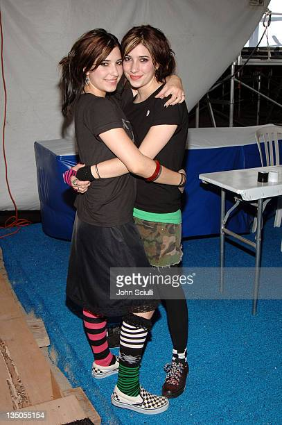 The Veronicas during Teen Vogue Fashion Live Inside in Huntington Beach California United States