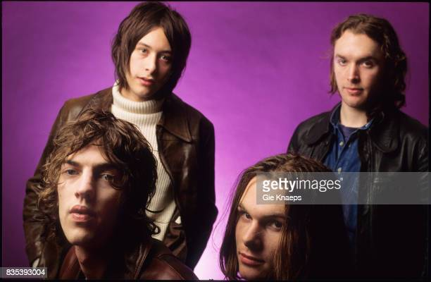 The Verve Richard Ashcroft Nick McCabe Peter Salisbury Simon Jones Vaartkapoen Brussels Belgium