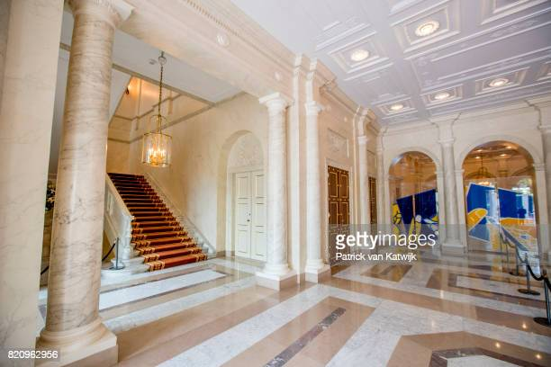 The Vestibule room in Palace Noordeinde on July 22 2017 in The Hague Netherlands Palace Noordeinde is the office of King WillemAlexander and Queen...