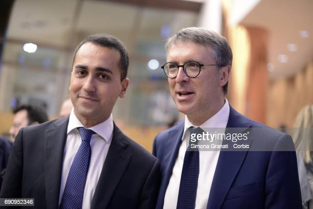 The Vice President of the Chamber of Deputies Luigi Di Maio and President of the AntiCorruption Authority Raffaele Cantone partecipate at the...