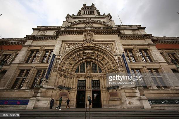 The Victoria Albert Museum on 16 February 2011 in London