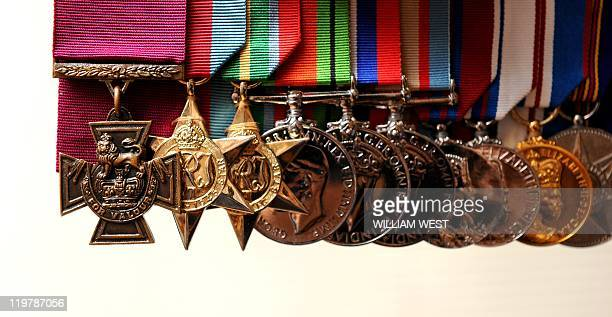 The Victoria Cross medal awarded to Ted Kenna for bravery during action against the Japanese in New Guinea is up for auction in Melbourne on July 25...