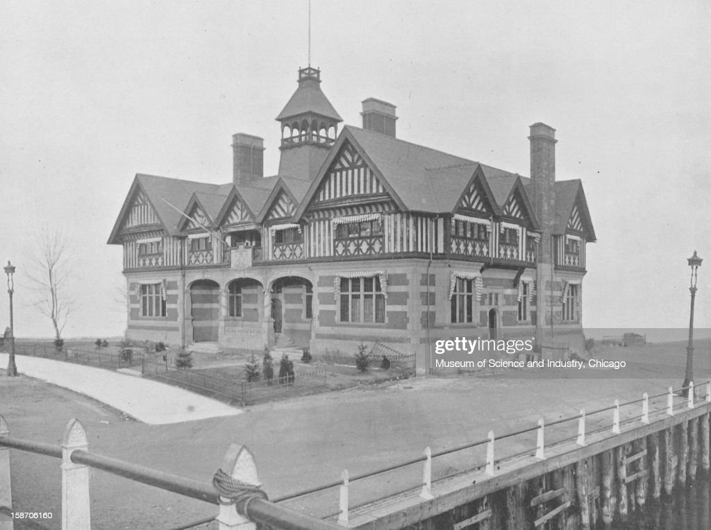 The Victoria House Great Britain's Building at the World's Columbian Exposition in Chicago Illinois 1893 This image was published in 'Campbell's...