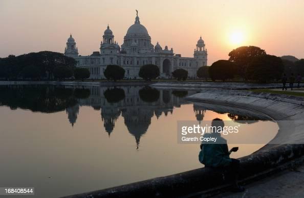 The Victoria Memorial on November 30 2012 in Kolkata India