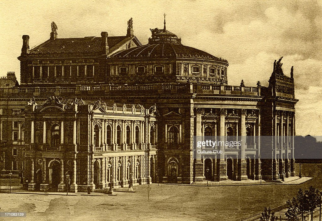 The Vienna Burgtheater built 14 March 1741