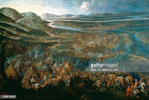 The Viennese attack the Turks during the siege of Vienna 1683 Austria 17th century