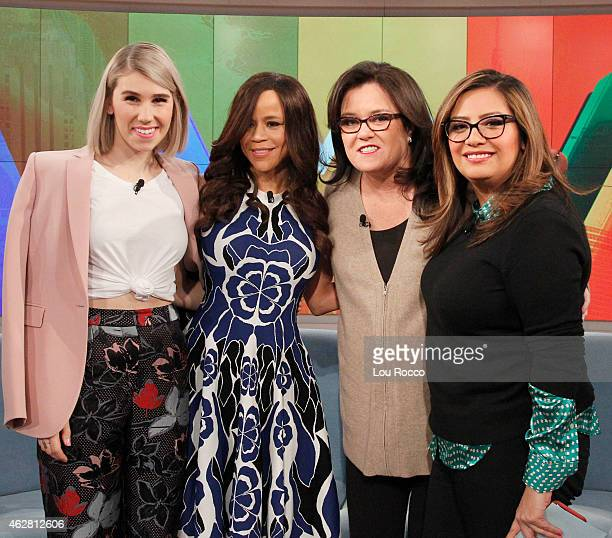 THE VIEW 'The View' celebrates cohost Nicolle Wallace's birthday today Wednesday February 4 2015 Guest cohost is Cristela Alonzo ABC's 'Cristela' and...