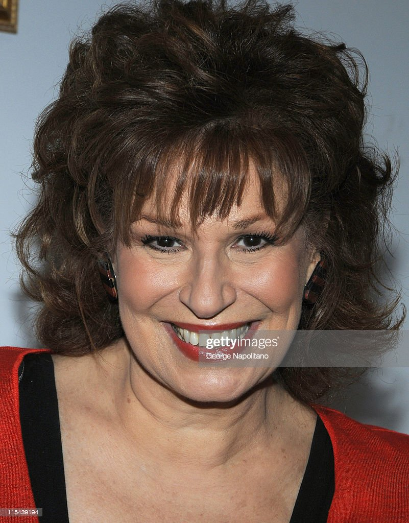 'The View' co-host Joy Behar unveils the new Kraft Bagel-fuls on 'Good Day New York' April 9, 2008 in New York City .