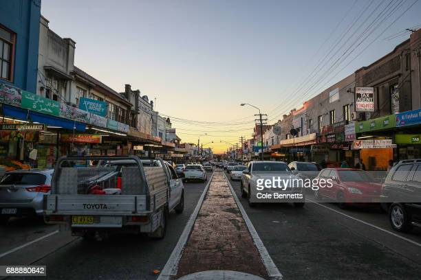 The view down Haldon Street in the southwestern suburb of Lakemba where a street festival will take place to mark the breaking of the first fast of...