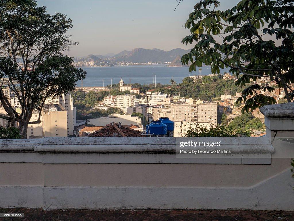 The view from Santa Teresa