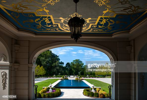 The view from the front door of Norton Manor the 37000 square foot main home of IT entrepreneur Frank Islam and his wife Debbie Dreisman captures a...