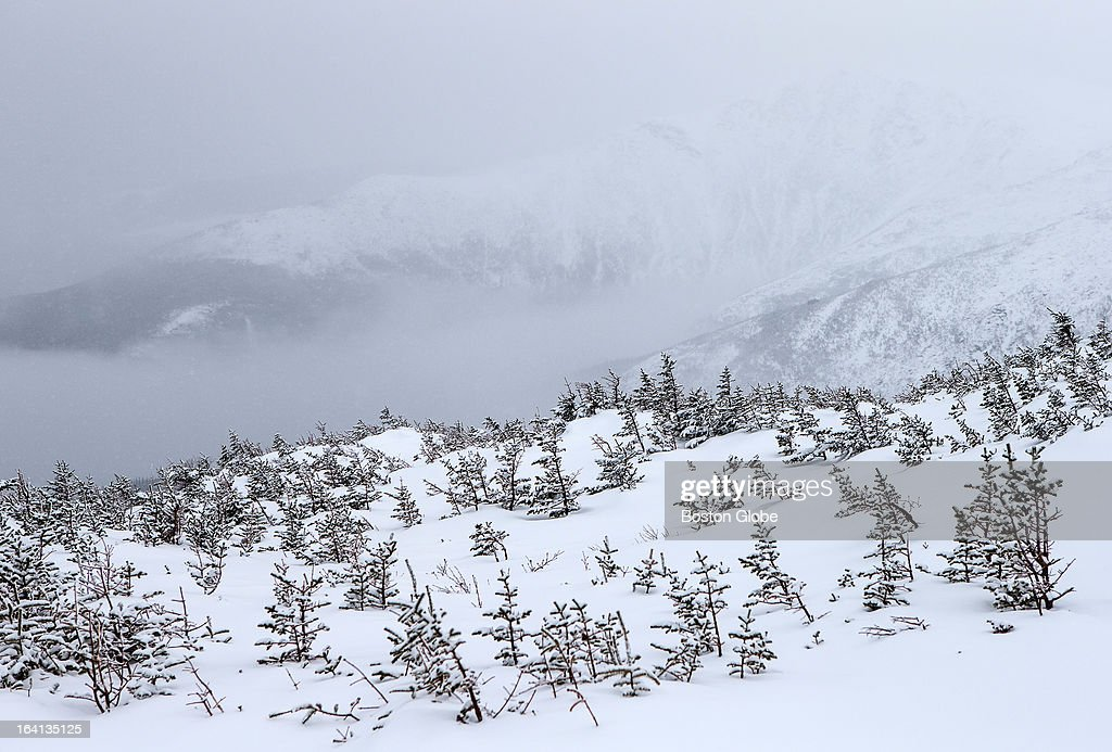 The view from the Mount Washington Auto Road. This is not Mount Washington.
