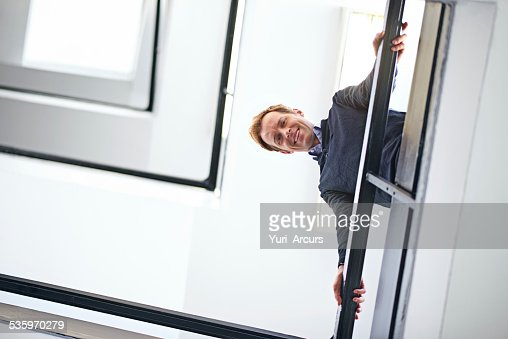 The view from the top : Stock Photo