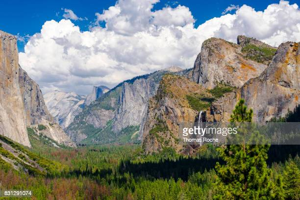 The view from the Tunnel View viewpoint
