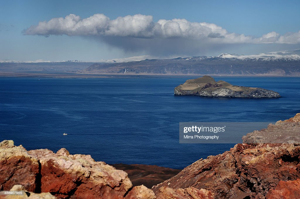 The view from Vestmannaeyjar