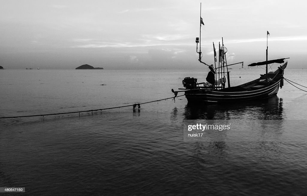 The view in the morning. The sky, the sea, : Stock Photo