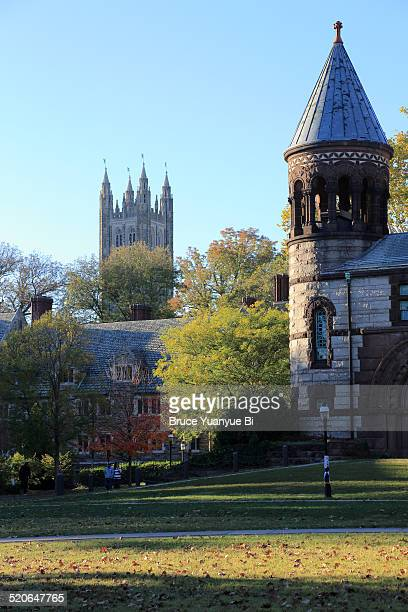 The view of campus of Princeton University