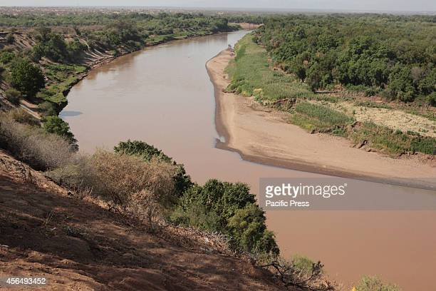 The view of Omo river as one of the water source for Gibe III Dam Gibe III Dam III Dam Africas Tallest Dam with installed capacity of 1870 MW which...