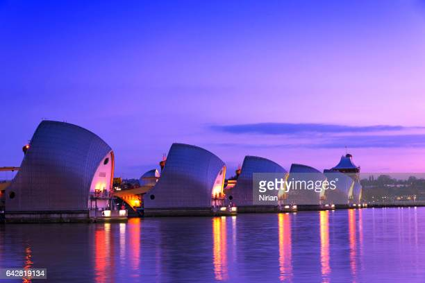 The View of Thames Barrier