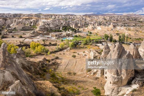 The view of the national park in Goreme, Cappadocia, Turkey