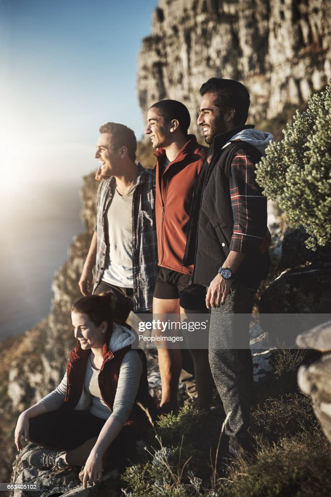 The views from the top are always the best : Stock Photo