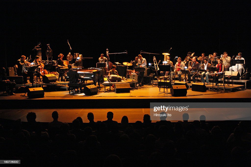 The Vijay Iyer Large Ensemble Project performs 'Open City' at Alexander Kasser Theater at Montclair State University on Friday night October 4...