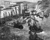 The Viking attack on Paris 885 The Vikings rowed up the Seine to attack Paris on several occasions in the 9th century the first being in 845 The...