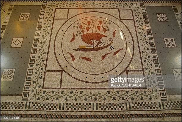 The Villa Kerylos An Hymn To Ancient Greece On March 1 2004 In BeaulieuSurMer France The Painted Mosa´c In Theodore ReinachS Room