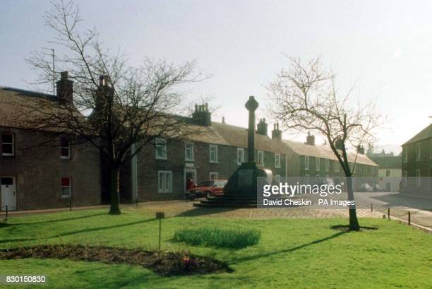 The village of Dunning in Perthshire where an American couple were married after falling in love with the village on the Internet Harry Dunning and...