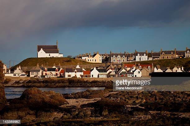 The village of Findochty, Scotland