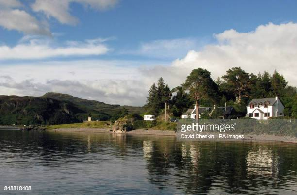 The village of Glenelg in the Highlands of Western Scotland