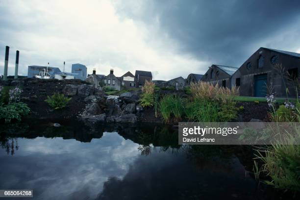 The village of Glenlivet County of Banff The Glenlivet River gave birth to the whisky that took its name Images and captions taken from the book La...