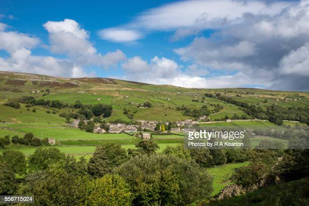 The village of Gunnerside in Swaledale, Yorkshire Dales, England